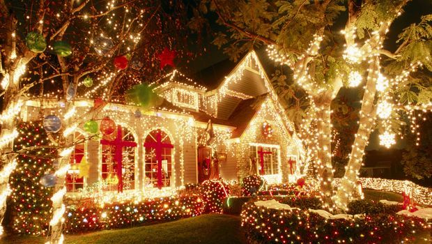 LED Christmas Lights Bright Pinterest