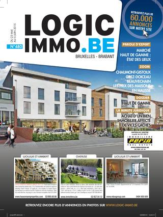 Logic Immo Be Bruxelles N 480 Du 23 05 15 By S A IPM Issuu
