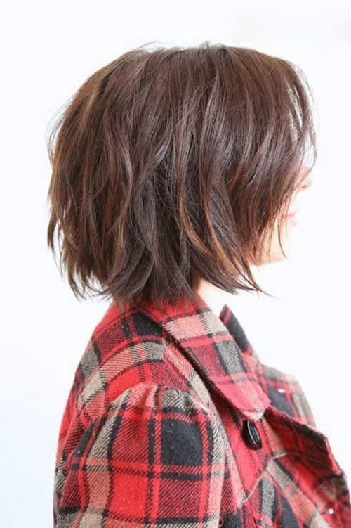 Long Layered Angled Bob Hair Pinterest Bobs Cortes Modernos De Pelo