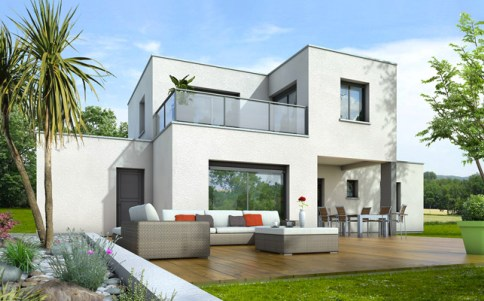 Maison Contemporaine Plan Gratuit 3D
