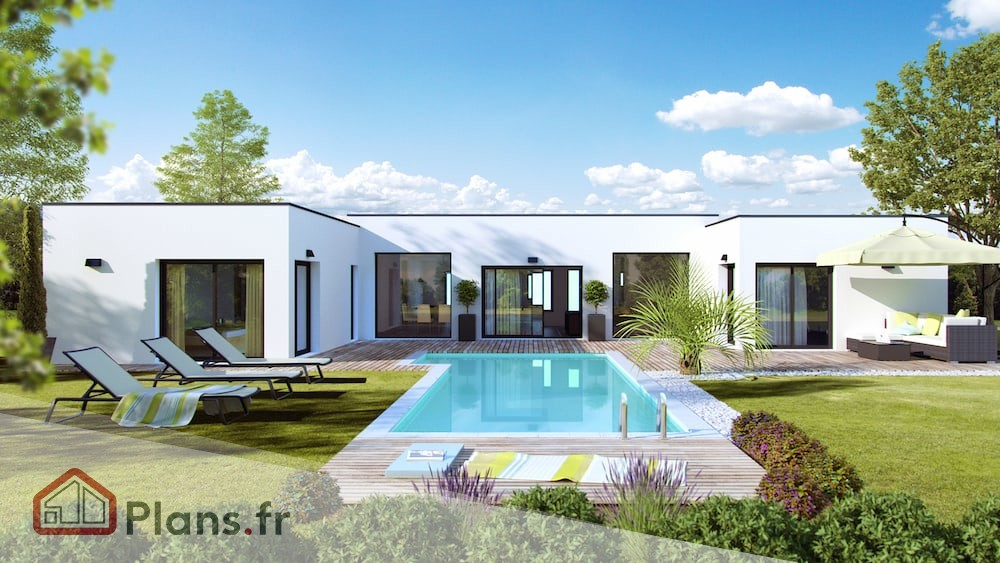 Maison Contemporaine Plans Et Mod