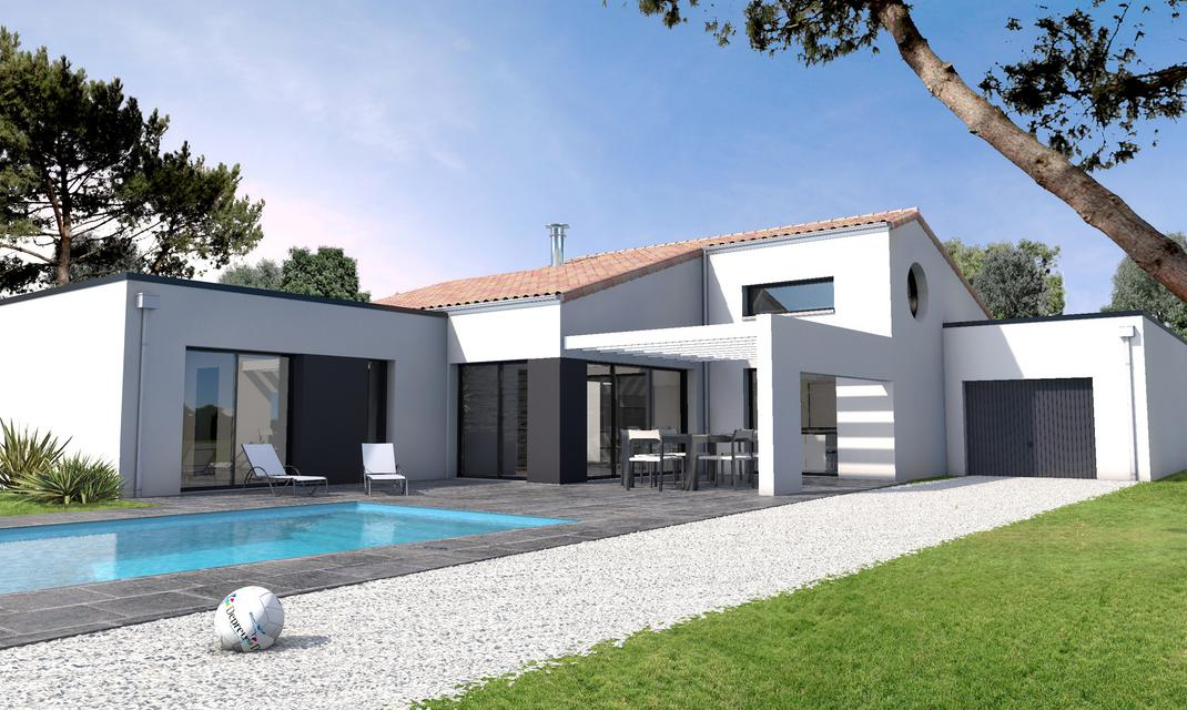 Maison Contemporaine Sur Mesure 44 56 85 Depreux Construction