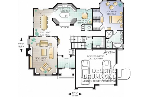 Maison D Inspiration Manoir De Luxe Plans Dessins Drummond Dessiner
