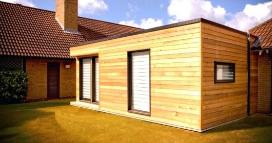 Maison En Bois 20m2 Cool Cout Extension
