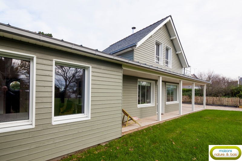 Maison En Bois Americaine Construction Cottage A L Am Ricaine
