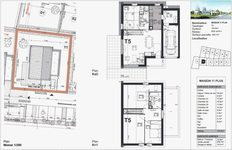 Maison Mitoyenne Plan Perfect De Maisons Cra Choosewell Co Gratuit 0