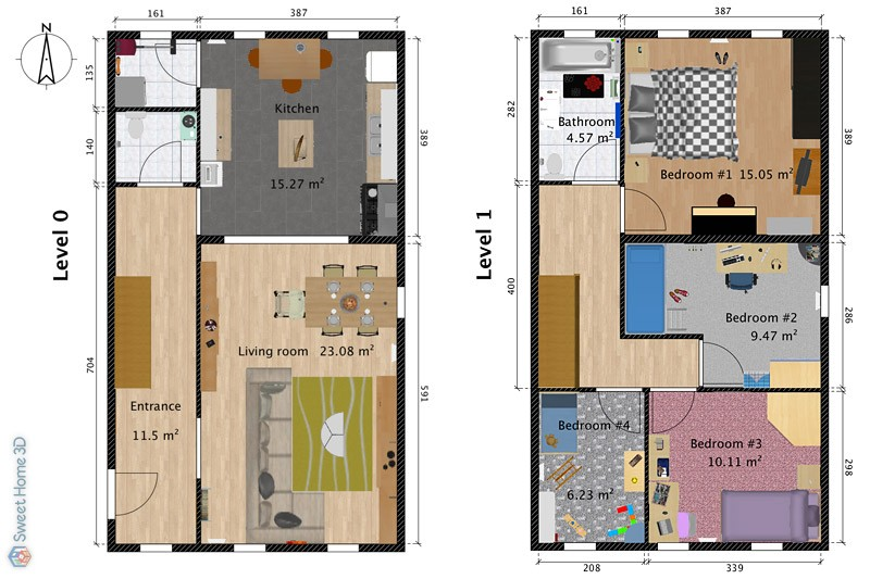 Maison Sweet Home 3d 3D Draw Floor Plans And Arrange Furniture