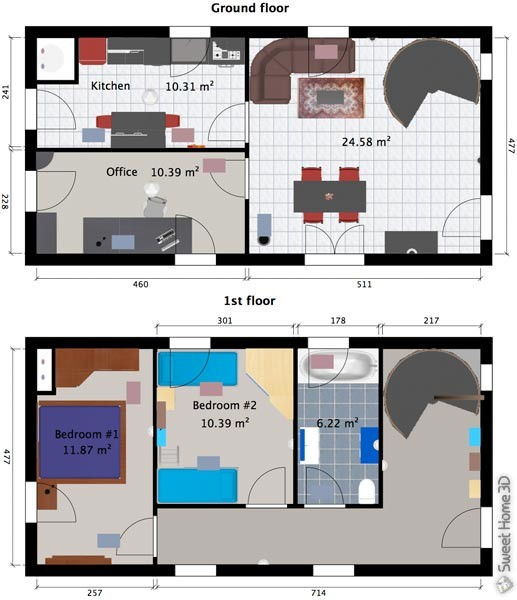 Maison Sweet Home 3d 3D Gallery HouseWithTerrace Plan Ipsita Co