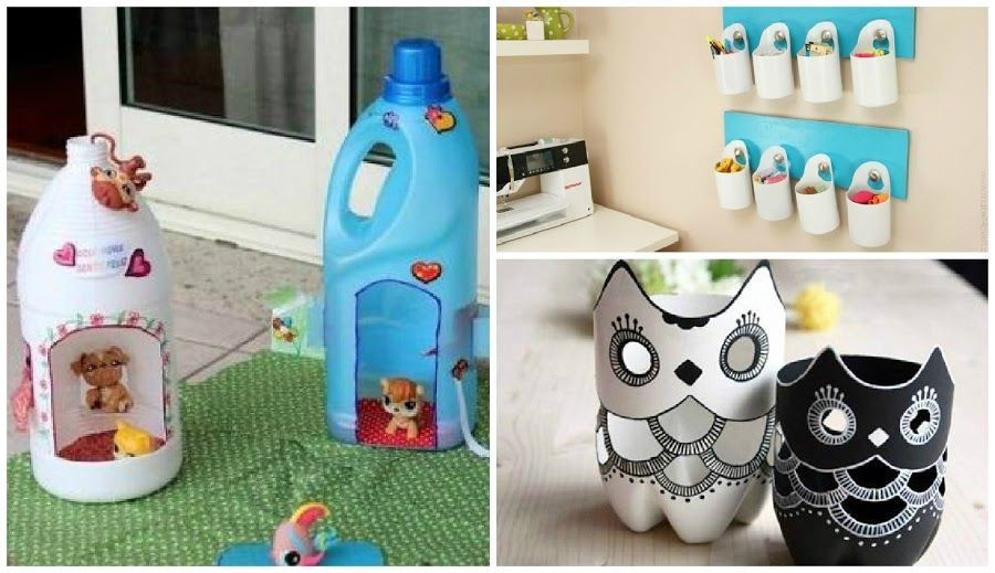 Manualidades Con Botellas 3 Recicladas Ideas De