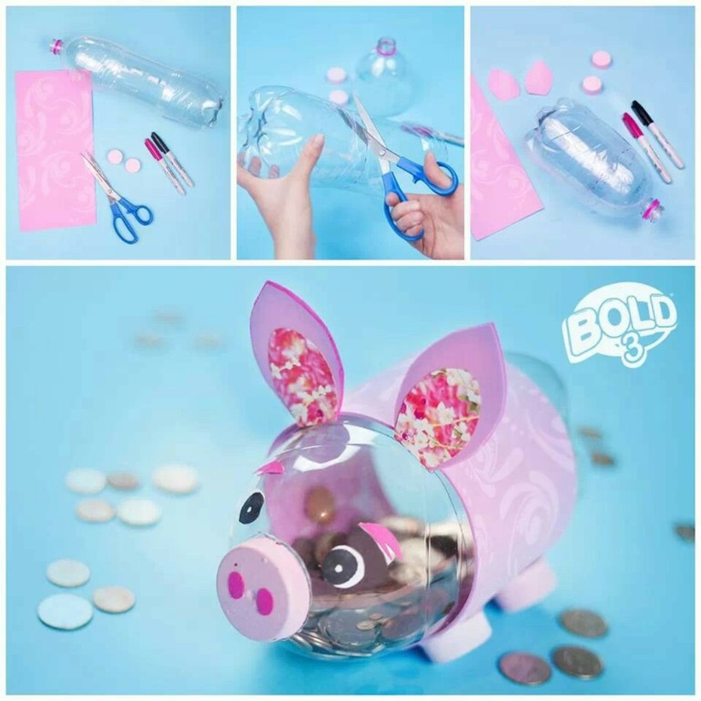 Manualidades Con Botellas De Plastico 25 Ideas