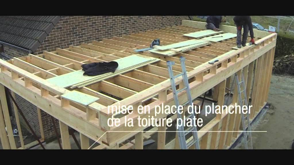 Meunier Fr Res Construction D Une Extension Habitation YouTube