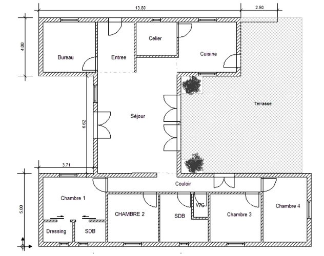 Modele De Plan Maison A1group Co