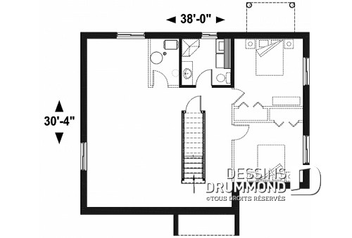 Modele De Plan Maison Choosewell Co House Model Rdc W3038 A1group