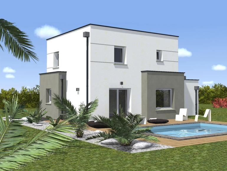 Modele Facade Maison Moderne Idee 2 Photo De 3 Lzzy Co
