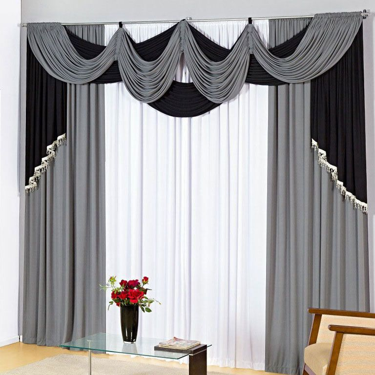 Modelos De Cortinas Para Sala2 Curtains In 2018 Pinterest