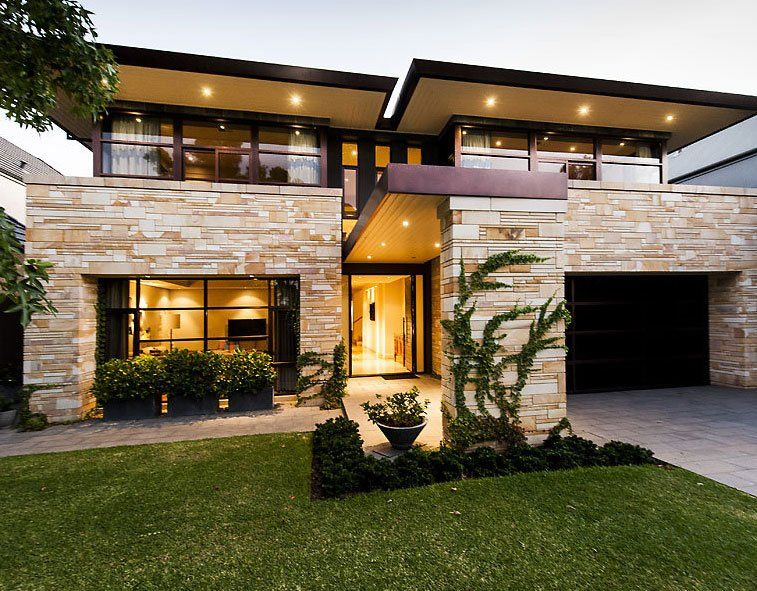 Modern House With Interesting Exterior Design Architecture Casa