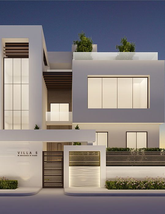 Modern Villa Exterior Design By IONS DESIGN Architecture
