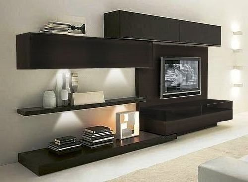 Modulares Para Living Tv Lcd Led Wall Unit Muebles Of De
