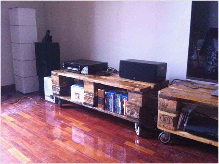 Mueble Para Tv Hecho Con Palets Muebles Paso A With