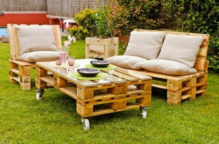 Muebles De Jardin Con Tarimas Beautiful Juegos Pictures Amazing