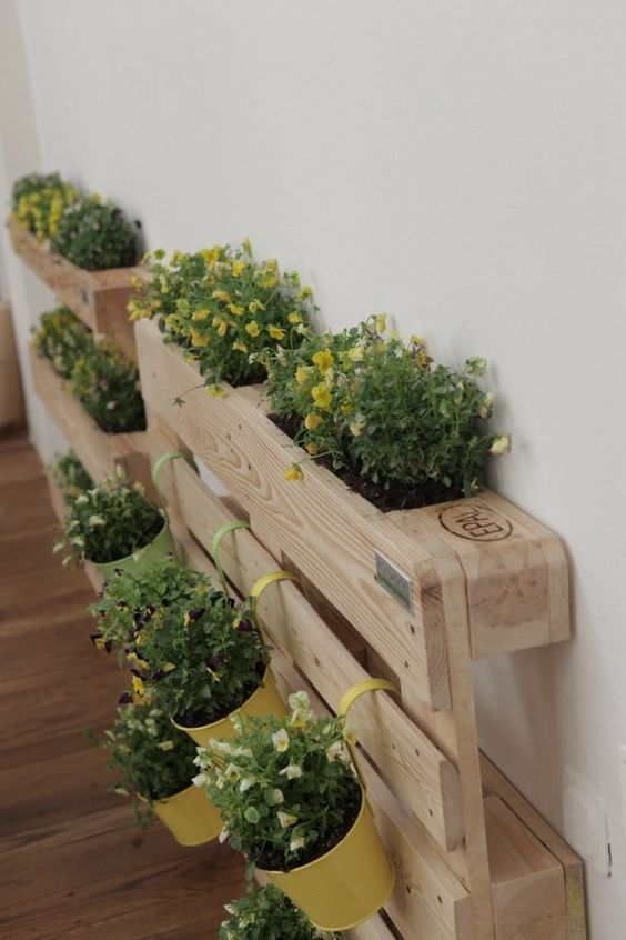 Muebles De Palet Para Decorar Con Plantas Deco Ideas