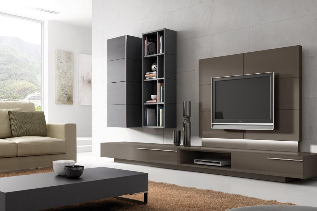 Muebles De Tv Modernos Buscar Con Google Built In Shelves