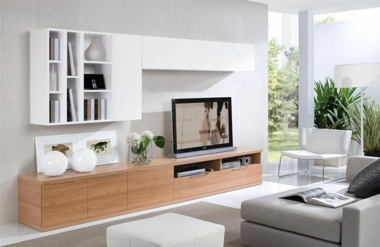 Muebles Para Tv 50 Propuestas Creativas Y Modernas Decoraci N