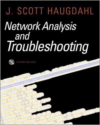 Network Analysis And Troubleshooting J Scott Haugdahl Disclaimer