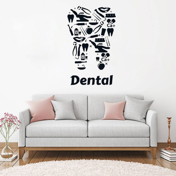 Nuevo Dise O De Pared Vinilo Decal Cl Nica Dental