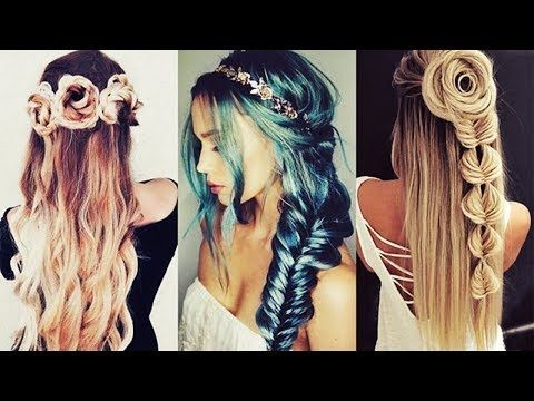 NUEVOS PEINADOS DE MODA 2017 New Hairstyles Tutorial Compilation