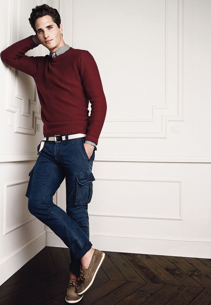 Ollie Edwards For HE By Mango Bold Choice Of Pants Shoes But I