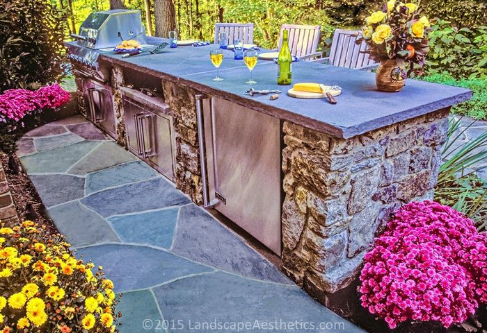 Outdoor Kitchens In New Jersey Patio BBQ Pinterest