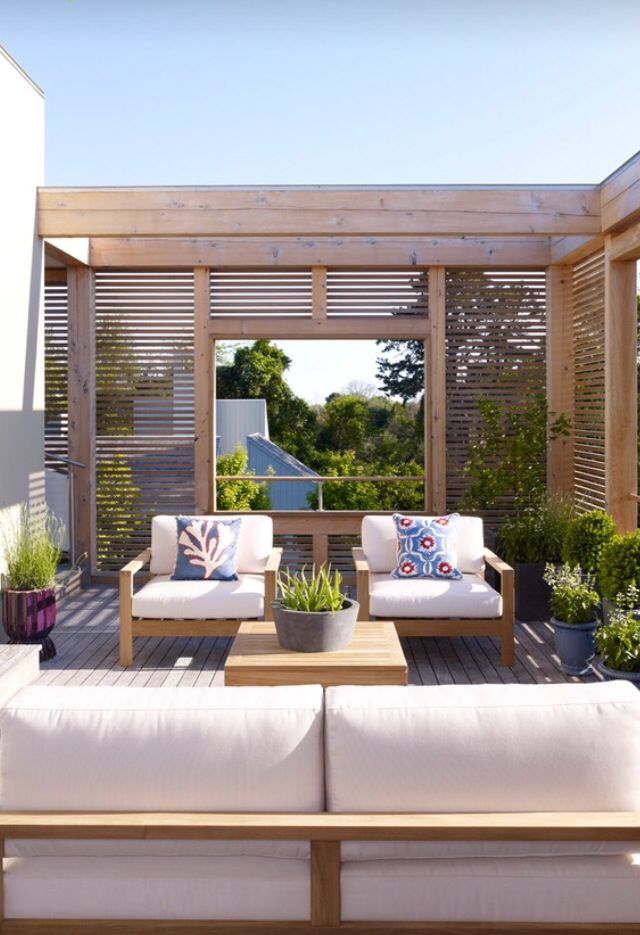 Outdoor Spaces Home Ideas Pinterest Terraza Jardin Terrazas Y