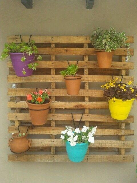 Palets Con Plantas Para Decorar Ideas El Hogar Pinterest Ipsita Co