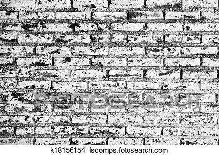 Pared De Ladrillo Blanco Y Negro Affordable Caravista