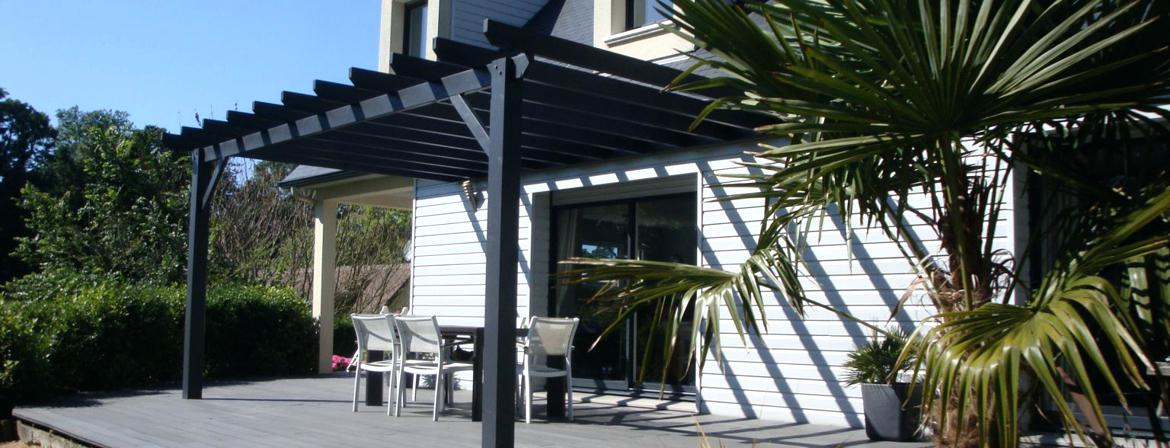 Pergola Bois Fait Maison Best Dsc With Magasin De