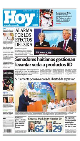 Peri Dico 12 De Abril 2016 By Periodico Hoy Issuu