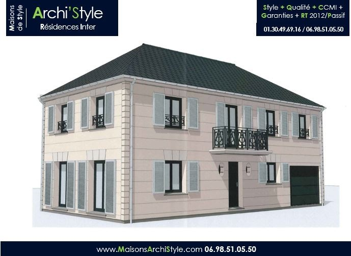 Photos De Maison Contemporaine Plain Pied Kapur 117 M M2 KAPUR1