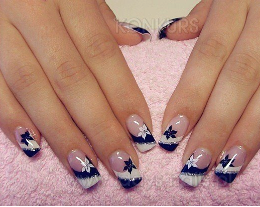 Pin De Alejandra Zumbado En U As Pinterest Nail Art Nails Y