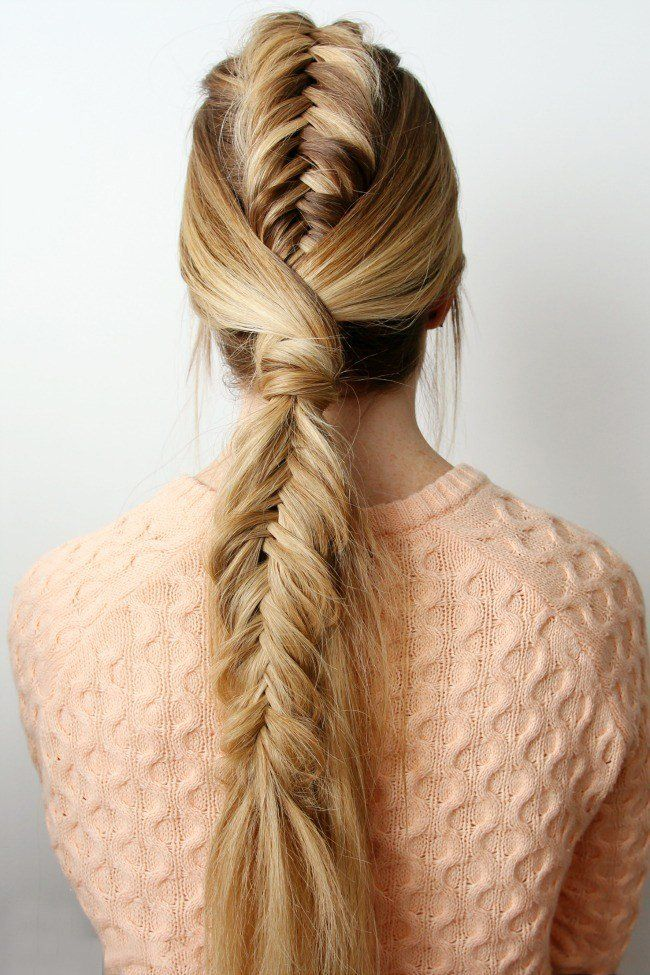 Pin De Beauty Cept En Peinados Pinterest Trenzas Cola