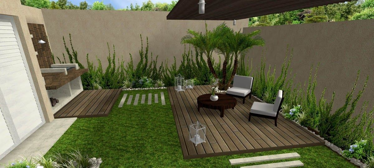 Pinterest Jardines Decoraci N De Peque Os Patio Amplio Ipsita Co