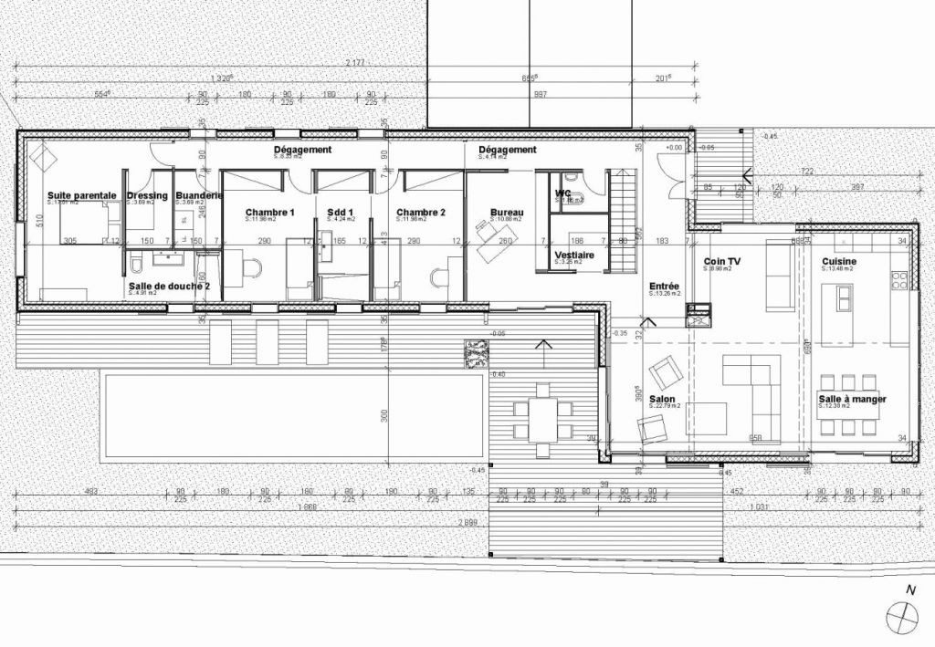 Plan Architecte Maison Moderne A1group Co