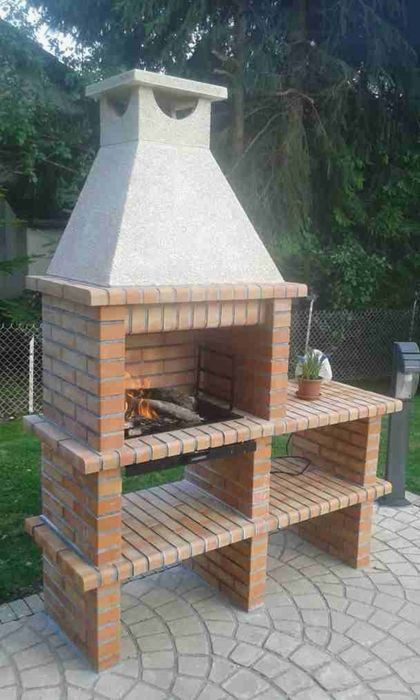 Plan Barbecue Brique Great En R Fractaire