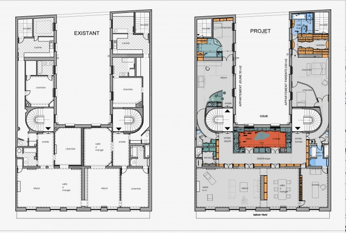 Plan D Un Appartement T3 50m2