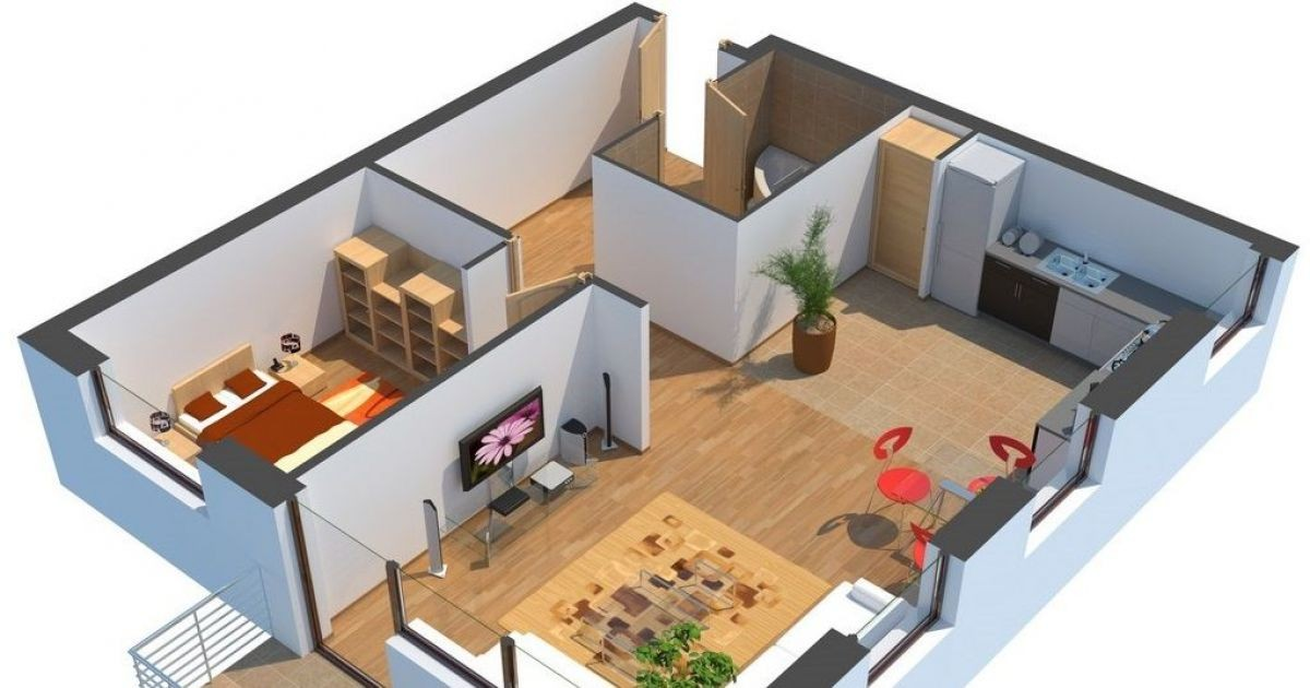 Plan D Une Maison En 3d A1group Co