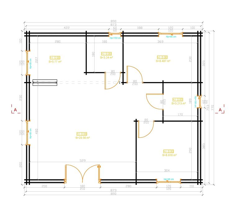 Plan D Une Maison Simple Co Us