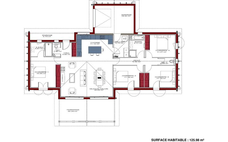 Plan De Construction Maison 11 CONSTRUCTION 86 FR Plans Maisons 2 Fr