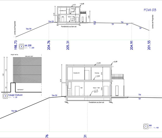 Plan De Coupe Maison Design Apsip Com