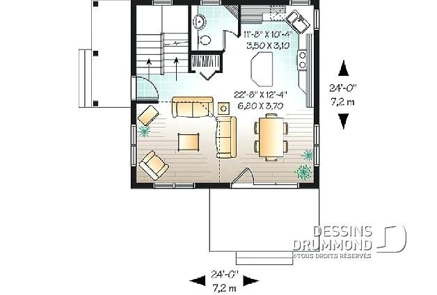 Plan De Grande Maison Plain Pied D Tail Du Wekillodors Com A1group Co