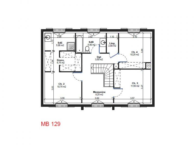 Plan De Maison 100m2 Plein Pied Newsindo Co Madame Ki 5a9c136912e98